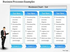 Business Framework Business Processes Examples PowerPoint Presentation