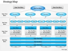 Business Framework Business Strategy Map PowerPoint Presentation