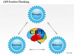 Business Framework Cbt Positive Thinking PowerPoint Presentation