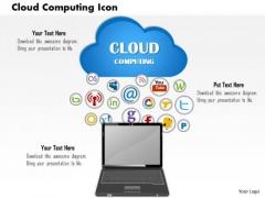Business Framework Cloud Computing Icon PowerPoint Presentation