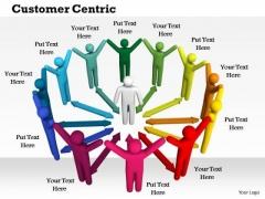 Business Framework Customer Centric PowerPoint Presentation