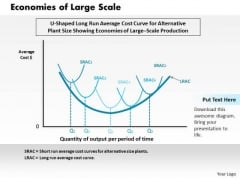 Business Framework Economies Of Large Scale PowerPoint Presentation