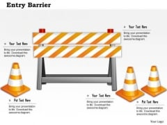 Business Framework Entry Barrier 1 PowerPoint Presentation