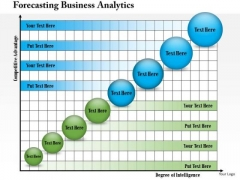 Business Framework Forecasting Business Analytics PowerPoint Presentation