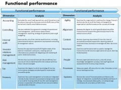 Business Framework Functional Performance PowerPoint Presentation