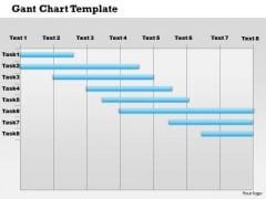 Business Framework Gantt Chart PowerPoint Presentation