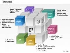 Business Framework Integrated Products And Services PowerPoint Presentation