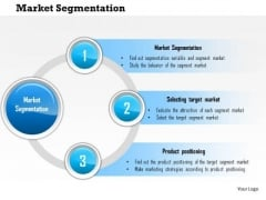 Business Framework Market Segmentation PowerPoint Presentation