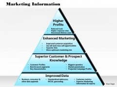 Business Framework Marketing Information PowerPoint Presentation 1