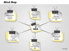 Business Framework Mindmap Download PowerPoint Presentation