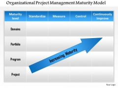 Business Framework Organizational Project Management Maturity Model PowerPoint Presentation