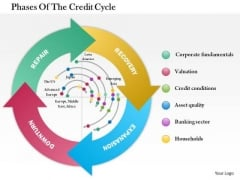 Business Framework Phases Of The Credit Cycle PowerPoint Presentation