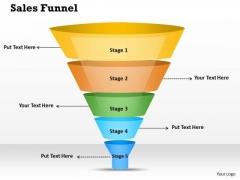 Business Framework PowerPoint Tutorial Funnel 1 PowerPoint Presentation