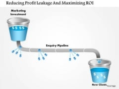 Business Framework Reducing Profit Leakage And Maximizing Roi PowerPoint Presentation