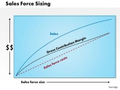 Business Framework Sales Force Sizing PowerPoint Presentation