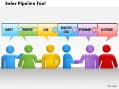 Business Framework Sales Pipeline Tool PowerPoint Presentation