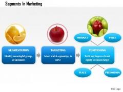 Business Framework Segments In Marketing PowerPoint Presentation