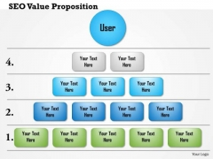 Business Framework Seo Value Proposition 5 Layers PowerPoint Presentation