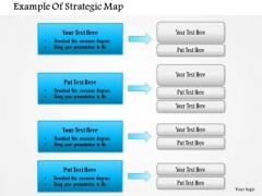 Business Framework Strategic Map PowerPoint Presentation