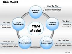 Business Framework Tqm Model PowerPoint Presentation