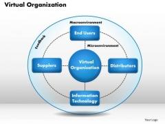 Business Framework Virtual Organization PowerPoint Presentation