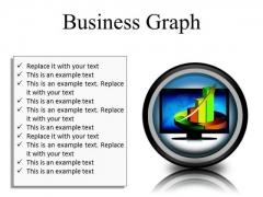 Business Graph Finance PowerPoint Presentation Slides Cc