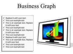 Business Graph Finance PowerPoint Presentation Slides F