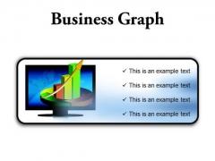 Business Graph Finance PowerPoint Presentation Slides R
