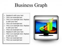 Business Graph Finance PowerPoint Presentation Slides S