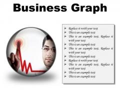 Business Graph Success PowerPoint Presentation Slides C