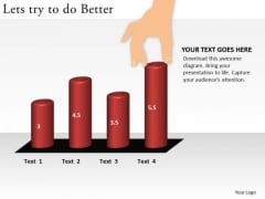 Business Graphic PowerPoint Templates Business Lets Try To Do Better Ppt Slides