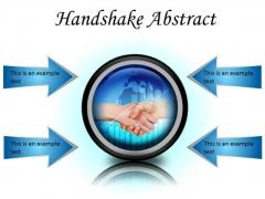 Business Handshake PowerPoint Presentation Slides Cc