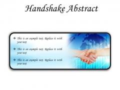 Business Handshake PowerPoint Presentation Slides R