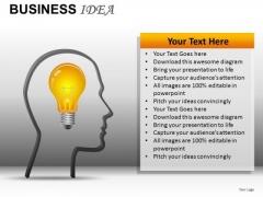 Business Idea PowerPoint Templates Ideas Ppt Slides