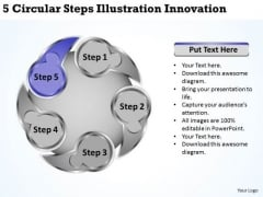 Business Integration Strategy Steps Illustration Innovation Ppt Creative Marketing Concepts