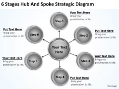 Business Intelligence Architecture Diagram And Spoke Strategic Ppt PowerPoint Templates