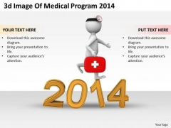 Business Intelligence Strategy 3d Image Of Medical Program 2014 Characters