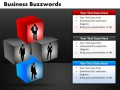 Business Leaders Building Blocks PowerPoint Templates