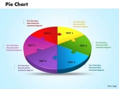 Business Leadership PowerPoint Templates Business 3d Jigsaw Circular Pie Chart Ppt Slides