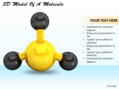 Business Level Strategy 3d Model Of Molecule Best Stock Photos