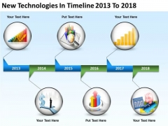Business Life Cycle Diagram Timeline 2013 To 2018 PowerPoint Templates Ppt Backgrounds For Slides
