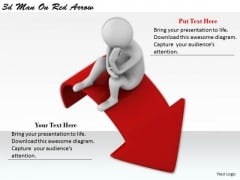 Business Management Strategy 3d On Red Arrow Adaptable Concepts