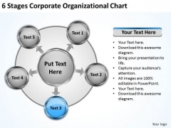 Business Management Strategy 6 Stages Corporate Organizational Chart Basic Marketing Concepts