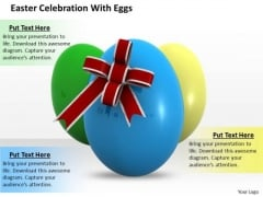 Business Management Strategy Easter Celebration With Eggs Pictures Images