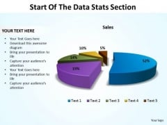 Business Marketing PowerPoint Templates Business Start Of The Data Stats Section Ppt Slides