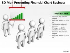 Business Model Diagram Examples Financial Chart PowerPoint Theme Slides
