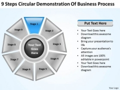 Business Model Strategy Demonstration Of Process Development