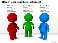 Business Network Diagram Examples Discussing PowerPoint Theme Concept Slides
