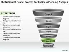 Business Network Diagram Examples Process For Planning 7 Stages PowerPoint Slide