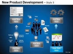Business New Product Development 3 PowerPoint Slides And Ppt Diagram Templates